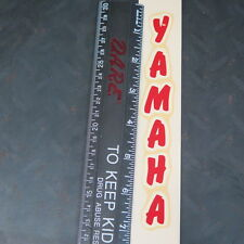 Vintage Yamaha Water Slide Decal,RD350,YDS,SR500,XT500 Cafe Racer Made in USA