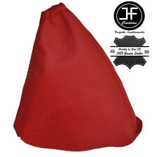 RED LEATHER GEAR STICK GAITER COVER FITS PEUGEOT 508 2010-2015 MANUAL NEW
