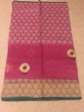 Supernet cotton saree
