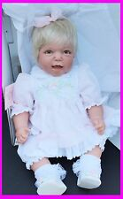 Lee Middleton Reva Schick Original Baby Real Doll Mommy's Good Girl Blonde Lace