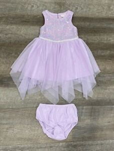 Cat & Jack Baby Girls Lilac Dress Size 18 Months