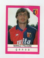 figurina CALCIO FLASH 1990-91 - NUMERO 119 GENOA PACIONE