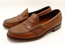 Ralph Lauren Polo Arscott Penny Loafer Shoes ~ Brown/Tan Leather ~ Men's US 9