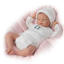 Ashton Drake Ashley Breathing Lifelike Baby Girl Doll By Andrea Arcello