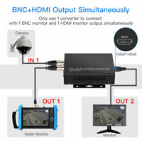 TVI CVI AHD to HDMI 1080P 4K Video Adapter Converter FHD For Camera Monitor