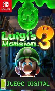 Luigi's Mansion 3   Nintendo Switch. ¡LEER DESCRIPCIÓN!