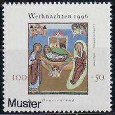 Specimen, Germany ScB808 Christmas, Nativity.