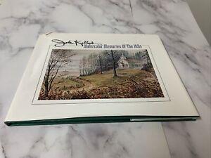 WATERCOLOR MEMORIES OF HILLS By John Kollock - Hardcover Signed