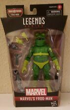 """Marvel Legends Spider-Man Spider-Verse Frog-Man 6"""" Fig BAF Stilt Man"""