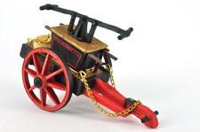 "Fire Vehicle Hand Pump 1866 Lead Del Prado Firefighter Serie 1/32 3.14"" 4 Parts"