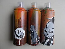 "Hookser "" Spray Can Tagger Set of 3 "" , Peinture Originale Sur Bombe , Graffiti"