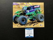 Dennis Anderson Hot! signed autographed Gravedigger 8x10 photo Beckett BAS coa