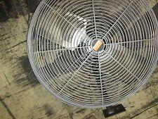 """Dayton Exhaust Fan 3C218G 24"""" fan w/ mount Motor: 9BNN3B 1/4HP 115V 2.4A Used"""