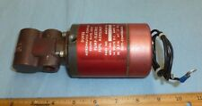 DUKES FUEL PUMP 4140-00-19A Removed from MOONEY (NICE SERVICEABLE PUMP) AVIATION