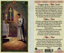 Prayers of an Altar Server Card O God You Have Graciously Called Me To Serve You