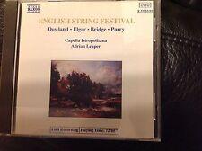 English String Festival: Leaper Capella Istropolitana Elgar Dowland Parry Bridge