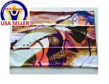 SAO Sword Art Online Anime Girl GGO Gun Gale Shino Sinon Dakimakura Pillow Case