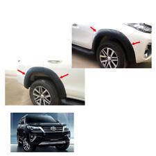 Fender Flares Wheel Trim Black V1 Set For Toyota Fortuner Crusade 2015 - 2017