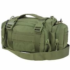 Condor #127 Deployment MOLLE Shoulder Go Bag Man Purse Butt Pack Pouch OD Green