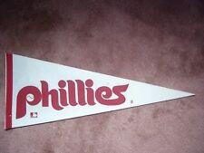1970'S MLB BASEBALL PHILADELPHIA PHILLIES PENNANT FLAG SHARP!!