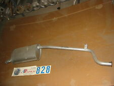 271707 MARMITTA TERMINALE (MUFFLER AUSPUFF) FIAT PANDA 4X4/KAT SISLEY 86>92