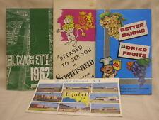 Vtg 1962 Elizabeth South Australia Program 7th Birthday Cookbook Souvenir Card