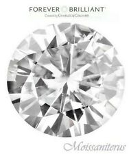 Loose Round Forever Brilliant 4.5mm Moissanite = .33 CT Diamond With Certificate