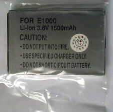 AC 06ac4 for Motorola e1000 Li-ion 3.6v 1500mah