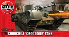 Airfix A02321 1/76 Plastic WWII British Churchill Crocodile Tank