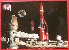 Thunderbirds PRO SET - Card #034 - Thunderbird 3 Moon Base - Pro Set Inc 1992