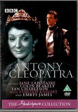 Antony & Cleopatra  BBC Shakespeare Collection DVD New