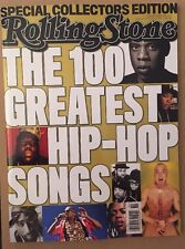 Rolling Stone 100 Greatest Hip Hop Songs Special Collector Ed 2015 FREE SHIPPING