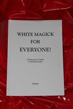 WHITE MAGICK FOR EVERYONE  Finbarr Book Witchcraft White Magic Spells Occult