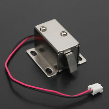 Electronic Lock Catch Door Gate 12V/0.34A Electric Release Assembly Solenoid