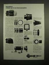 1973 Hasselblad Camera Ad - Our Close-Up System