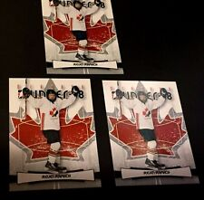 STEVEN STAMKOS 2007-08 In the Game LOT of ( 3 ) O Canada ROOKIE Cards #16 RC