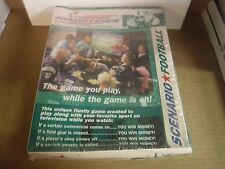 Scenario Sports The Game's In The Bag Sealed Football Game 031117jh