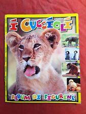 05 STICKER ALBUM I CUCCIOLI PUPPY  ANIMALI EDIGAMMA COMPLETO FULL COMPLETE