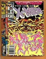 THE UNCANNY X-MEN #226 231 & 238 Fall of the Mutants FN to FN+