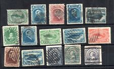 Newfoundland 1866-1897 fine used QV collection WS19301