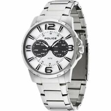 Police Visionary 14100js/01m Mens Stainless Steel Watch