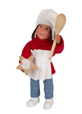 Byers Choice Toddler Girl Chef Cook w/Spatula/Spoon MINT NEW STORE STOCK'18 Cute
