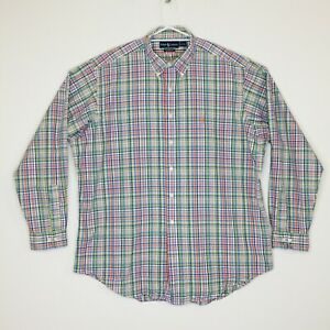 Ralph Lauren Checked Classic Fit Long Sleeve Dress shirt Size XL