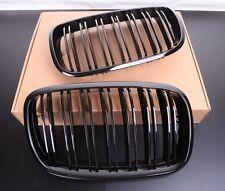 FAST EMS x2 DUAL SLAT GLOSS BLACK Grills for BMW X5 X5M X6 X6M E70 E71 E72