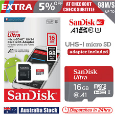 SanDisk 16GB Ultra Micro SD Card SDHC UHS-I 98MB/s Mobile Phone TF Memory Card