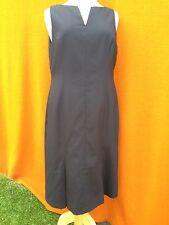 CHARLIE BROWN black sleeveless corporate / work dress , size 16.