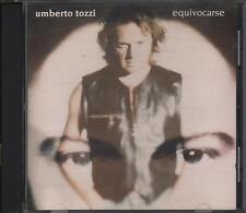 """UMBERTO TOZZI - RARO CD IN SPAGNOLO """" EQUIVOCARSE """""""