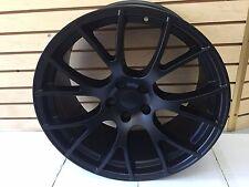 New Set of 4 Wheels 20 inch Matt Black Rims fit DODGE CHALLENGER SRT HELLCAT