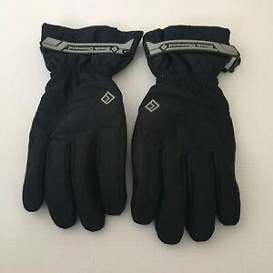 Men's Black Diamond Ski Gloves Size M Fleece Lined 81935