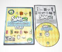 The Sims 2 Kitchen & Bath Stuff PC Expansion 2008 Complete Interior Design